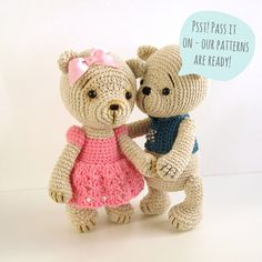 Crocheting Teddy Bears: 16 Designs for Toys (Dover