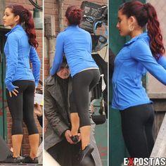 ariana grande ass photos | Ariana Grande - Fresno Fair performance candids in California, October ...