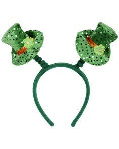 St. Patrick's Day Leprechaun Hat Boppers Headband