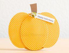card idea, pumpkin card, halloween cards, fall, pumpkins