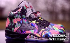 "I want these.....Air Jordan 5 ""Fresh Prince 1.5"" Custom"