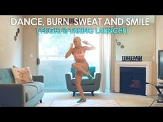 Dance, Burn, Sweat and Smile - Flight is taking Launch! - YouTube