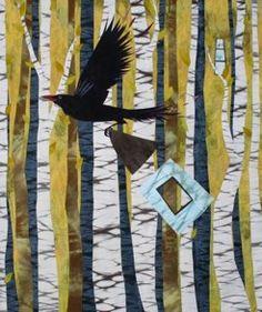 migrat, artists, art studios, galleri, birdor art, gorman quilt, kate gorman, black bird, resid artist