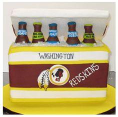 Redskins Cake Idea.