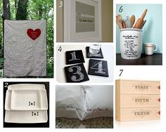 DIY wedding gifts. Love the wine for every anniversary
