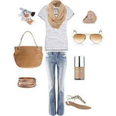 Neutral, created by plevitan.polyvore...