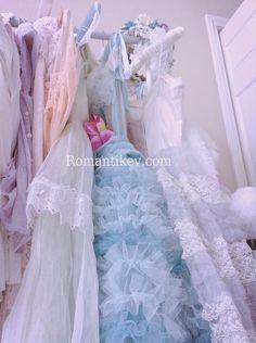 Vintage elbiseler Romantik detaylAr Romantik Ev