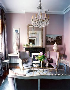 Lavender Living Room