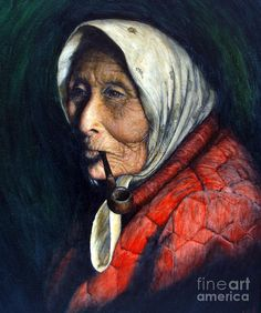 Maggie Painting  - Maggie Fine Art Print