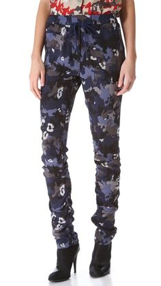 3.1 Phillip Lim Ruched Track Pants