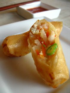 Asian recipes | Fried Spring Rolls Recipe | Easy Asian Recipes at RasaMalaysia.com