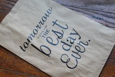 For the welcome bags...Personalized Kraft Favor or Gift Bags - A Sweet Ending to a New Beginning. $0.50, via Etsy.