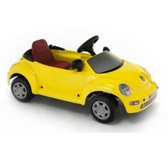 New Bettle eléctrico para niños en http://www.tuverano.com/coches-electricos-infantiles/660-new-bettle-escarabajo-electrico.html