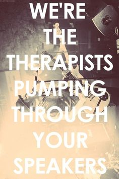 #music = #therapy  Fall Out Boy