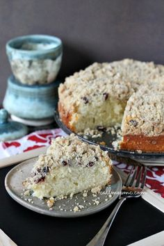 Cranberry Crumb Coffee Cake
