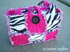 Made up to be a doll's diaper bag, but what can't this be a bag for me?? :)