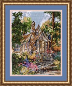 Hansel's Cottage by Marty Bell - Pegasus Originals ANOTHER CROSS STITCH BEAUTY