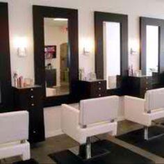 Salon ideas on pinterest coffee stations salon color for Abc salon equipment