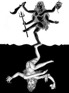 Kali ~ Shiva