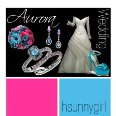 """Aurora (Sleeping Beauty) Themed Wedding"" by hsunnygirl on Polyvore"