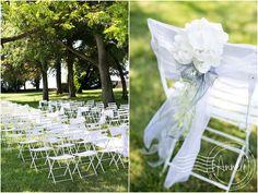 """outdoor-wedding-ceremony-in-Provence"" Elegant simplicity."