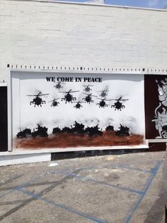 """""""We Come in Peace"""" 