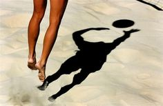 awesome beach volleyball picture