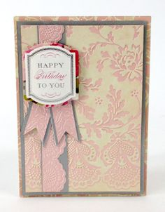 anna griffin lace trimmings, griffin card