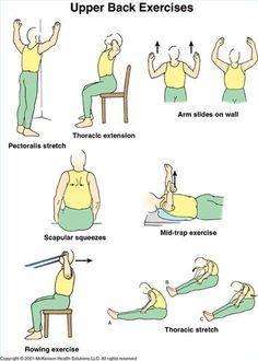 upper back exercise