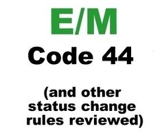 Code 44 and other Medicare Inpatient vs Observation Rules Clearly Explained practic manag, rule clear, cpt code, clear explain, facil code