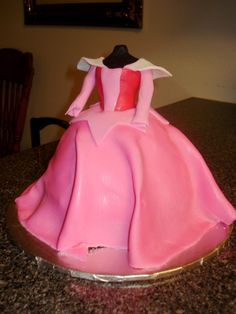 Sleeping Beauty Fairy Cake   My favorite cake! Sleeping Beauty's Dress Cake. Also available in ...