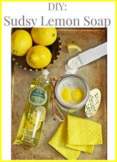 DIY: Palmolive Sudsy Lemon Soap & Lots of Weekly Prizes! #PalmoliveWM #Spon