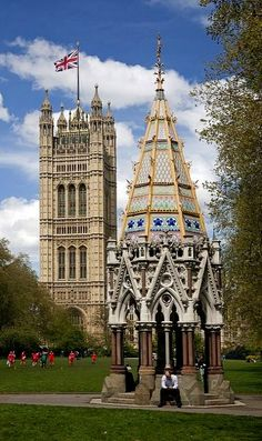 Victoria Tower ~ Westminster, London | Flickr - Photo by Thomas Mulchi