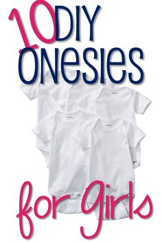 10 DIY Onesies for Girls