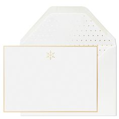 Snowflake Notes by Sugar Paper