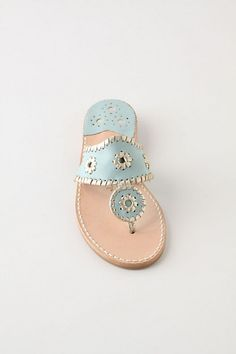 love Jack Rogers sandals! I have a pair but don't want to wear them