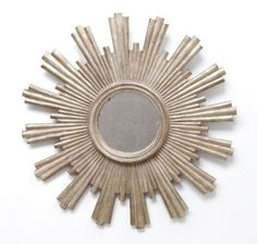 Josephine SilverLeafed Mirror Worlds Away DIY this with different length dowel rods.
