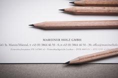 Mareiner Holz - corporate identity & design by moodley brand identity , via Behance