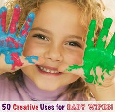 Reader Tips: 50 Creative Uses for Baby Wipes at TheFrugalGirls.com {don't leave home without 'em!} #baby