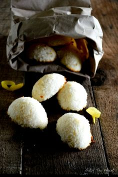 Lemon Coconut Macaroons #food #paleo #glutenfree