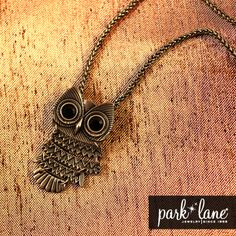 See what all the Hoots about at Park Lane! #jewelry #fashion #owls