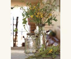 Lattiera Flower Bottles  $19.00 - $26.00