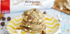 Biscoff S'mores Cookies