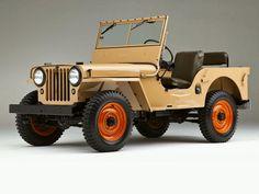 1945 Jeep CJ-2A.