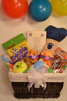 Dog Birthday Gift Basket