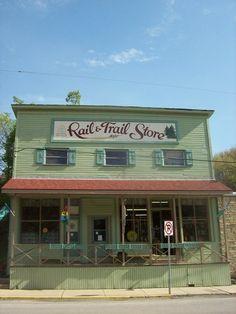 Rail & Trail Store ~ Durbin, West Virginia