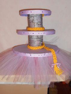 Rapunzel/Tangled Cupcake Tower