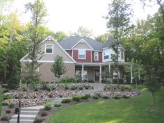 Terraced Front Yard