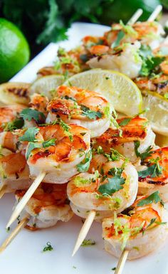 Cilantro Lime Grilled Shrimp Recipe