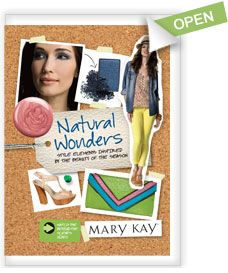 If you can't shop in person you can always check out Mary Kay's awesome e-catalogs.